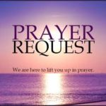Prayer request purple