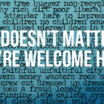 It doesn't matter WelcomeMessage2